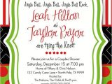 Christmas themed Bridal Shower Invitations Christmas Bridal Shower Invitation Holiday Open by