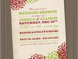 Christmas themed Bridal Shower Invitations Items Similar to Christmas Wedding Shower Bridal Shower