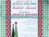 Christmas themed Wedding Shower Invitations Free Printable Wedding Shower Invitations Trees