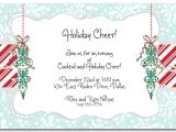 Christmas Work Party Invite Wording Work Christmas Party Invitation