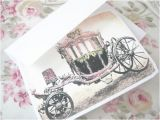 Cinderella Carriage Bridal Shower Invitations by Zaqriey nordin Fairytale Wedding