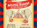 Circus themed Baby Shower Invitations Circus Baby Shower – Invitations & Decor Part 1 Of 2