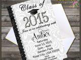 Class Of 2015 Graduation Invitations Class Of 2015 Graduation Party Invitation by Digigraphics4u