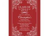 Class Of 2015 Graduation Invitations Elegant Class Of 2015 Graduation Party Invitation Zazzle