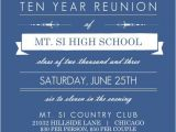 Class Party Invitation Template Class Reunion Flyer Template Yourweek 409b30eca25e