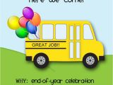 Class Party Invitation Template Preschool Graduation Printable Collection Invitation