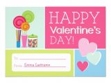Class Valentines Party Invitation Candy & Hearts Kids School Classroom Valentine Invite