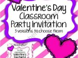 Class Valentines Party Invitation Pinterest