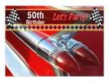 Classic Car Party Invitations Classic Car Birthday Party Invitation Zazzle