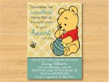 Classic Winnie the Pooh Baby Shower Invites Winnie the Pooh Baby Shower Invitation Printable the