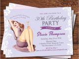 Classy 30th Birthday Invitations Elegant 30th Birthday Invitation Women by