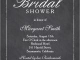 Classy Bridal Shower Invitations Elegant Chalkboard Bridal Shower Invitation Template Line