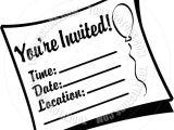 Clip Art Party Invitations Free Invitation Clip Art Borders Free Clipart Panda Free