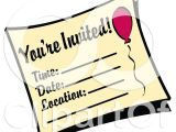 Clip Art Party Invitations Free Royalty Free Rf Clipart Illustration Of A You 39 Re Invited