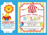 Clown Birthday Party Invitations Circus Party Invitations Circus Party Invitations and the
