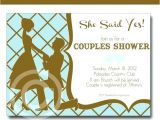 Co-ed Bridal Shower Invitation Wording Couples Bridal Shower Invitations Best Couples Shower