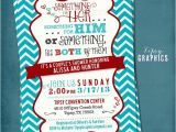 Co-ed Bridal Shower Invitation Wording something for Him Her or something for the Both Of them