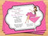 Cocktail Bridal Shower Invitation Wording Cocktail Bridal Shower Invitation