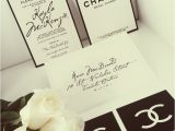 Coco Chanel Bridal Shower Invitations 33 Best Party theme Chanel Images On Pinterest