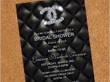 Coco Chanel Bridal Shower Invitations Chanel Bridal Shower Invites