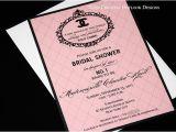 Coco Chanel Bridal Shower Invitations Coco Chanel Bridal Shower Invitation