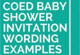 Coed Baby Shower Invitations Wording Ideas 21 Coed Baby Shower Invitation Wording Examples