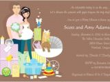 Coed Baby Shower Invites Wording Fun Coed Baby Shower Invitation and Favor Ideas — Unique