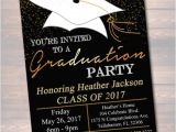 College Graduation Party Invitation Wording Editable Graduation Party Invitation High School