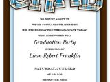 College Graduation Party Invitation Wording Samples 10 Best Images Of Barbecue Graduation Party Invitations