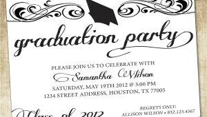 College Graduation Party Invitation Wording Unique Ideas for College Graduation Party Invitations