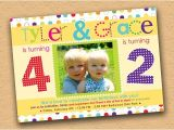 Combined Birthday Party Invitation Wording 25 Best Ideas About Combined Birthday Parties On