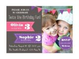 Combined Birthday Party Invitation Wording 25 Best Ideas About Joint Birthday Parties On Pinterest