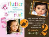 Combined Birthday Party Invitation Wording Joint Birthday Party Invitations Bagvania Free Printable