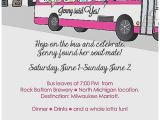 Combined Bridal Shower and Bachelorette Party Invitations Baby Shower Invitation Unique Wedding and Baby Shower