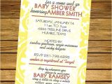 Come and Go Baby Shower Invitation Wording Items Similar to E and Go Baby Shower Invitation On Etsy