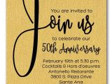 Company Anniversary Party Invitation Wording Shimmery Gold Join Us Business Anniversary Invitations