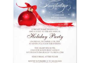 Company Holiday Party Invitation Ideas Corporate Holiday Party Invitation Template Zazzle Com