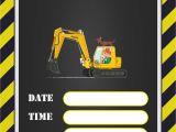 Construction Birthday Invitation Template Free Printable Construction Invitation Templates Free