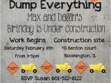 Construction themed Baby Shower Invitations Construction theme Construction theme Party and Boy