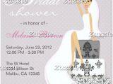 Contemporary Bridal Shower Invitations Free Bridal Shower Invitations