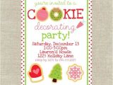 Cookie Decorating Party Invitation Wording 9 Best Cookie Party Images On Pinterest