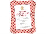 Cookie Decorating Party Invitations Cookie Decorating Party Invitation Christmas Invitation
