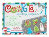 Cookie Decorating Party Invitations Cookie Decorating Party Invitation Zazzle