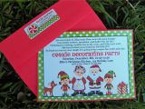Cookie Decorating Party Invitations the Magic Of Christmas Cookie Decorating Party that