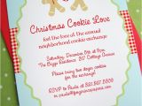 Cookie Swap Party Invitations New to Shop Gingerbread Christmas Cookie Love Frog