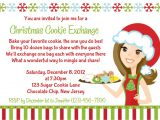 Cookie Swap Party Invitations Starts with Cupcakes An American Tradition