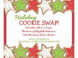 Cookie Swap Party Invitations Templates 6 Best Images Of Holiday Cookie Exchange Invitation