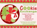 Cookie Swap Party Invitations Templates 9 Best Images Of Printable Cookie Exchange Invitations