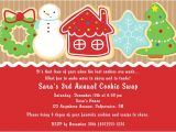 Cookie Swap Party Invitations Templates Christmas Holiday Cookie Swap Exchange Invitations 1 00