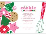 Cookie Swap Party Invitations Templates Cookie Exchange Invitations Template Best Template